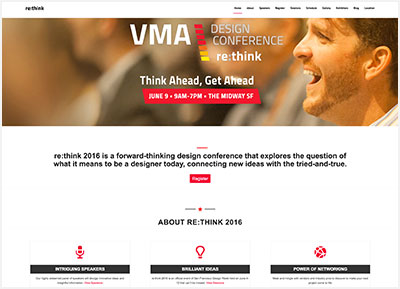 VMA re:think Design Conference